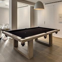 James De Wulf's Concrete Pool Table