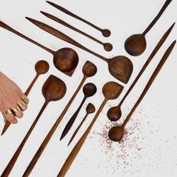 Windy Chien's wooden corner spoons