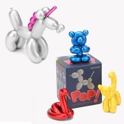 "Into balloon animals? Shiny Koons' style? Kidrobot has a new 3"" blindbox series - POP! Super Shiny Minis."