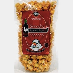 Sriracha Popcorn - from the mind of the Oatmeal to reality from J&Ds