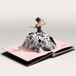 Pop up books are going to make a comeback ~ starting with this limited edition Neiman Marcus Pop Up
