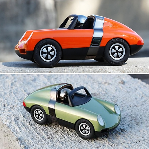 Playforever Luft Collection - playful Porsche inspired minimal toy cars coming soon in popping new colors.
