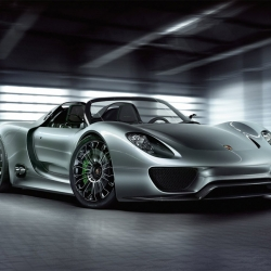 The new Porsche 918 Spyder hybrid concept has been revealed today at the Geneva Motor Show.