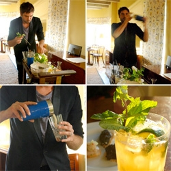 Soho Beach House Miami's OWC ~ One While Changing ~ awesome room service option, where the bartender (and sometimes caviar man!) roll their carts up and make you a drink!