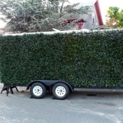 If you've ever watched Loony Toons, you know that the best way to observe someone undetected is to use shrubbery. The Porta Hedge is the souped up version of the basic bush camo getup - offering ropeswings, chalkboards and a even birdcall device.