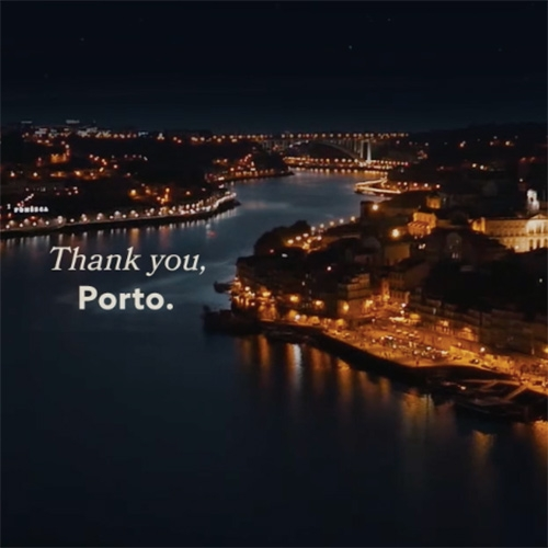 """Thank you, Porto."" from Armazém Criativo is a trbute to the city of Porto, a fairytale about a girl and her experience in this special city in the north of Portugal."