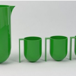 Ceramic slip cast jug/mug range that makes you look twice. Designed by Kristy Whyte.