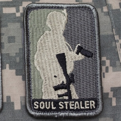 Soul Stealer - Photographer Morale Velcro Patch