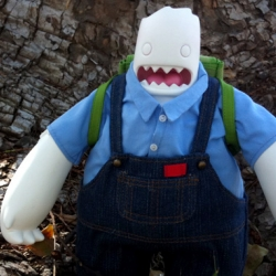 Artist David Lanham's amazing new toy, Bill the Yeti!