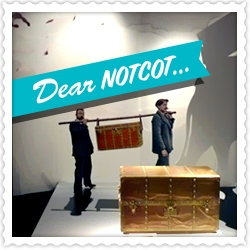 A new Dear NOTCOT ~ a look at the building transformed into a Louis Vuitton suitcase in Shanghai for the Louis Vuitton Paris 1867- Shanghai 2010 Retrospective!