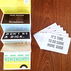 GOOD Postcards to inspire you to do good!