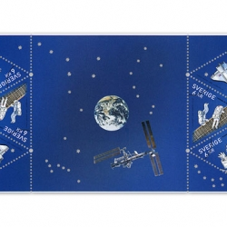 The Swedish Post is releasing a series of stamps to celebrate the Swedish astronaut Christer Fuglesangs second trip into space that is starting this weekend.
