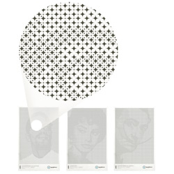 Very cool star grid posters by Mark Brooks for Santa Monica Legitimate Wear