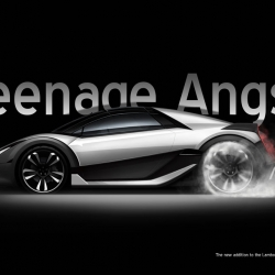 Lamborghini Concept by Art Center College of Design student Mike Churchill - video!