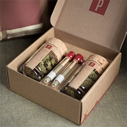 Potbox - there really is a subscription box for everything. Lovely packaging!