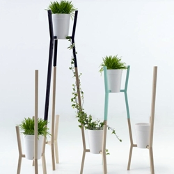 Roots by MUT Design, an infinitive modular system for gardens, inspired by traditional trellises. Exhibited at Salone Satellite 2011.
