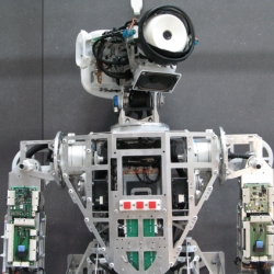 Frackenpohl Poulheim designed the humanoid robot 'Myon', which was created by the neurorobotics research laboratory at the Humboldt-Universität zu Berlin within the framework of the european research project Alear.