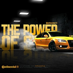 Addictive game for Continental Tyres, with R8 track day as the ultimate prize. Sick 3D and animation.