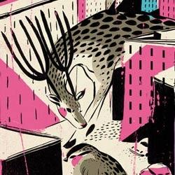 "New site designed by SUPERB illustrator Pietari Posti. new exhibition ""giants"" too."