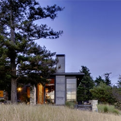 North Bay house on San Juan Island, Washington by Prentiss Architects.