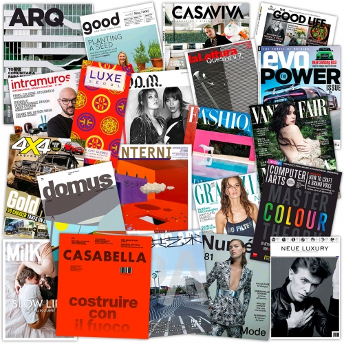 Italian Design Magazines, French Newspapers, Tech/Business Mags, bestsellers and new cookbooks in eBook form... How did i just realize how many can be read and borrowed online for FREE? NOTCOT inspiration overload!