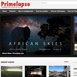 Primelapse.com ~ a site filled with timelapse videos! (as well as tutorials, sort by technique, location, etc.)