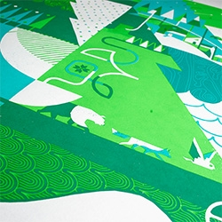 Jolby & Friends' Pacific Northwest Region Screen Print