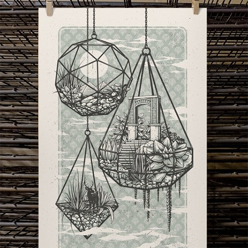 Guided By Voices Chicago Gig Print by Half Hazard Press. Limited Edition of 100.