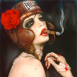 Thinkspace is pleased to present a new deluxe print edition from Brian Viveros 'The Last Round'!