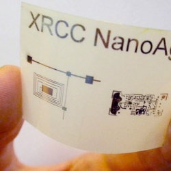 Xerox has developed a metallic ink that can conduct electricity to be used for printing on flexible materials. Making the way for bendable electronics?
