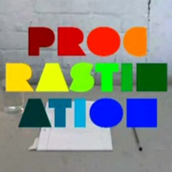 Johnny Kelly, a former  student at the Royal College of Art, created a unique animated video  about Procrastination.
