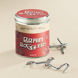 Brain Bogglers! Who can resist the challenge? And that awesome retro typography?