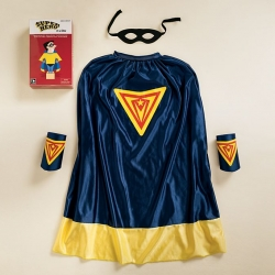 Superhero in a box! Bring out someones inner superman with this playful gift?