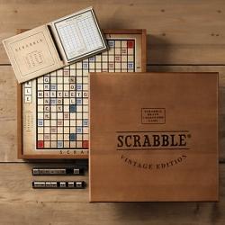 Vintage Edition Scrabble