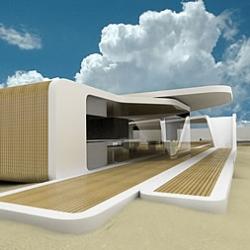 Sailing club in Versilia, Italy. Design by progettospore.