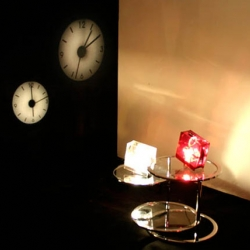 Unique analog projector clocks from Japan's I.D.E.A. International