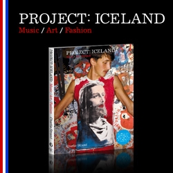 Project: Iceland is the first showcase of contemporary Icelandic art, fashion and musical talent and gives significant insight into this outstanding creative community.