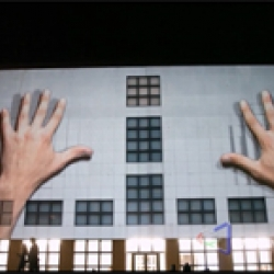 Mind-blowing 3D projection on German building created by UrbanScreen