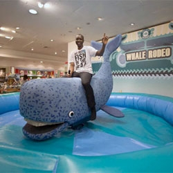 A WHALE RODEO! and a black light lit aquarium of confiscated coral! It's hard not to love the new campaign, Project Ocean at Selfridges. Check out the video of the rodeo in action too!