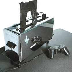 Hehe - things to do when you're bored:  ps2 toaster - nice one!