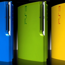 Colorware now coats the PS3 Slim with lots of lovely colors.