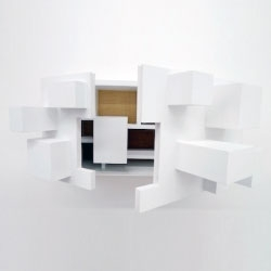 'Psych Cabinet' by Vivian Chiu deceives the users by exploring and contrasting the exterior and interior.