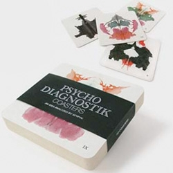 ATYPYK's Psycho Diagnostik Coasters with great Rorschach Prints...