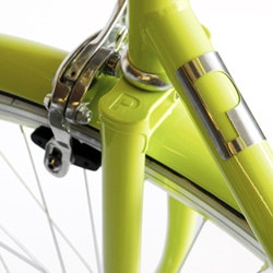 Super nice details on the city smart workhorse bike D8 by Public.  This model has become the standard for many bicyclists in Europe because it is so dependable and versatile