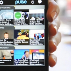 No iPad, no problem. The #1 News reading application, Pulse, is soon coming to iPhone. Awaiting Apple's approval. [Ed. Note - nice NOTCOT.org cameo!]