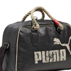 The Puma Heritage Grip Bags comes with cool rope-grips.