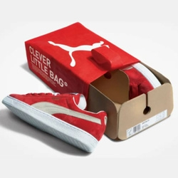 The New PUMA Fuseproject Packaging. PUMA and Yves Béhar developed a more sustainable packaging and distribution system in keeping with PUMA's ongoing commitment to sustainability.