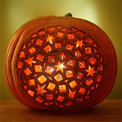 Design Sponge creates amazing laser cut jack-o-lanterns with Dan Funderburgh!