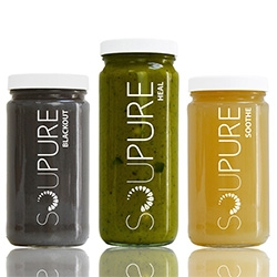 Soupure, Los Angeles. Soup cleanses are the new juice cleanse? (And then we're hearing broths are the new soup...)