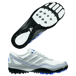 Adidas PureMotion brings the concept of barefoot training to the golf course. Lightweight, flexible, waterproof, and coming July 1, 2012